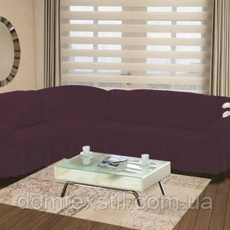 Чехол 3XXL на большой угловой диван и 1 кресло Тм Evory home Турция.