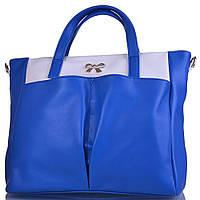 Сумка повседневная (шоппер) Farfalla Женская сумка из качественного кожезаменителя FARFALLA (ФАРФАЛЛА) WR82307-white