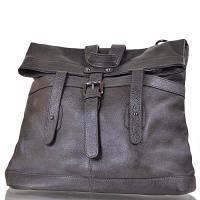 Женская кожаная сумка-рюкзак (трансформер) ETERNO (ЭТЭРНО) ET0073-grey