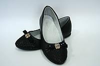 Туфли  на девочку черные