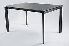 Стoл раскладной Matt Grey Glass 1300, Серый Матт (Concepto-ТМ), фото 2