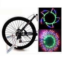 Анімаційна підсвітка коліс велосипеда LC-016, фото 1