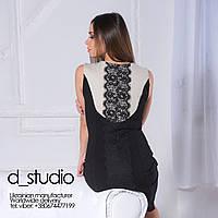 Платье из трикотажного полотна джерси. Удобство в уходе за нашими изделиями.