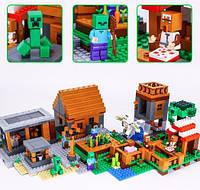Конструктор Lepin 18010 Деревня (аналог Lego Майнкрафт, Minecraft 21128)