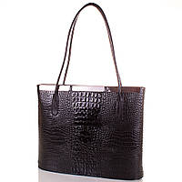 Женская кожаная сумка DESISAN SH377-2-KR черная