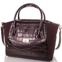 Сумка повседневная (шоппер) Europe Mob Женская сумка из экокожи и натуральной замши EUROPE MOB (ЮЭРОП МОБ) EM0047-10
