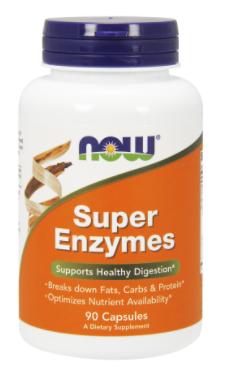 Супер Ензими, Now Foods, Super Enzymes, 90 Caps