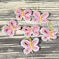Мини декор плетенный 5946 (5 шт. в упаковке)