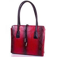 Женская кожаная сумка DESISAN SHI062-1ZM красная