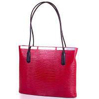 Женская кожаная сумка DESISAN SHI377-1LZ красная