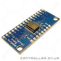 CD74HC4067 - 16 - канальный аналоговый мультиплексор