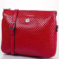 Женская кожаная сумка KARYA SHI521-1KAP красная