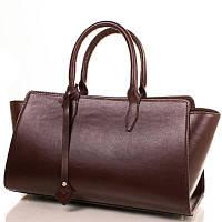 Женская кожаная сумка VALENTA VBE6150110 коричневая