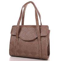 Женская кожаная сумка VALENTA VBE61135710 коричневая