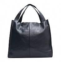 Женская кожаная сумка 12 СF Синяя