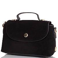 Саквояж (ридикюль) ANNA&LI Женская сумка из качественного кожезаменителя и натуральной замши ANNA&LI (АННА И ЛИ) TU1233-1-black