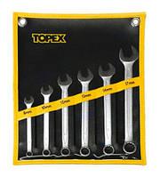 Набор ключей 35D761,8 шт.//TOPEX