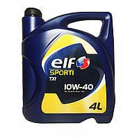 Моторное масло Elf SPORTI TXI 10w40 4л