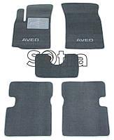 Двухслойные коврики Sotra Classic 7mm Grey для Chevrolet Aveo (sedan)(T250) 2003-2011