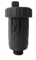 """Воздухоотводчик автоматический Afriso  пластиковый высокотемпературный, внешн. платиковое 3/8"""", Pmax: при 95°С - 8 бар, при 120°С -  3,5 бар"""