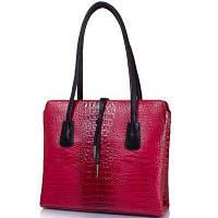 Женская кожаная сумка DESISAN SHI062-580 красная