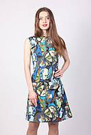 Деловое летнее платье 2035
