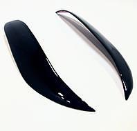 Накладки на фары - реснички на фары CHEVROLET Aveo III