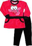 Комплект велюровый для девочки Gorgeous (2-6 лет), фото 5