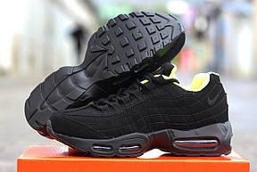 Крутые кроссовки Nike air max 95  черные 36р, фото 2