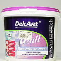 Декарт Wall краска интерьерная (4кг)