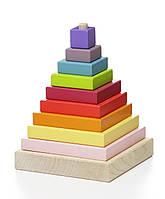 Деревянная пирамидка LD-5 Cubika