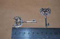 Кулон подвеска Сова-Ключ.