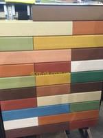 Вентфасад Хострок, плитка 600х100х25 мм, цвет Классик, под утеплитель 100 мм (белый цемент)