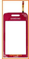 Сенсор (тачскрин) Samsung GT-S5230 la Fleur Red Original