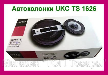 Автомобильные колонки UKC TS-1626 2шт!Акция, фото 2