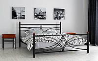 Кровать металлическая Тиффани односпальная 80 (Мадера / Madera) 850х2008х1003 мм