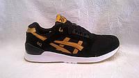 Мужские кроссовки Asics Gel Lyte черные, размеры с 41 по 45, фото 1