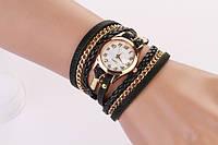 Часы-браслет - Черные