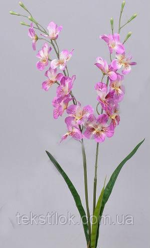 Орхидея розовая 63см Цветы искусственные фаленопсис