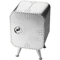 Столик кофейный Side Table With Drawers AVT55. Металл медь. Столик в стиле Лофт. Ручная работа. Сделано в Инди