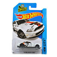 """Машинка """"Хот Вилс""""  10 Ford shelby gt 500, 1:64"""