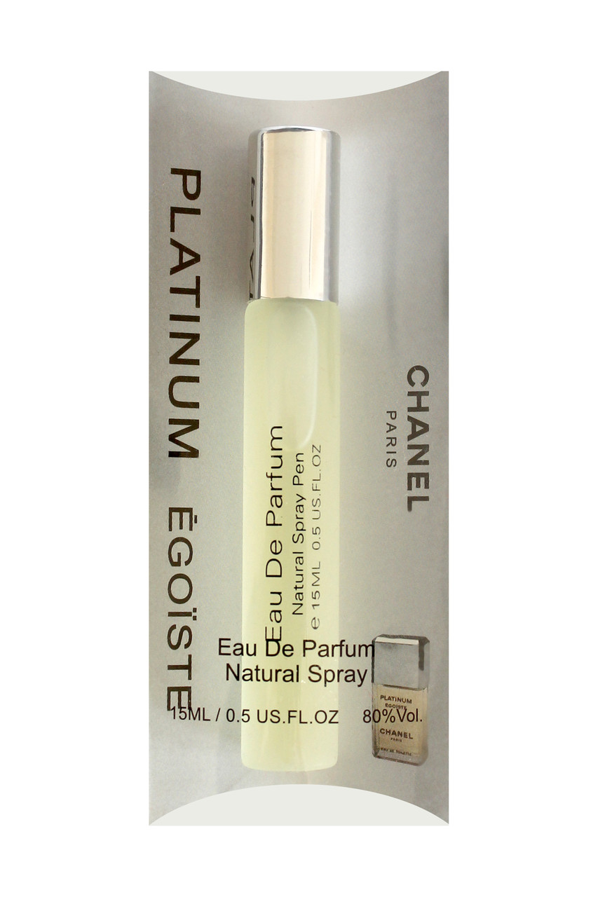 Мини парфюм мужской  Chanel Egoiste Platinum (Шанель Эгоист Платинум), 15 мл. - i-mall.com.ua в Киеве