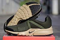 Кроссовки в стиле Nike Air Presto (хаки) кроссовки найк nike