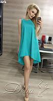 Платье летнее  из полупрозрачной ткани необычайно воздушное и приятное к телу