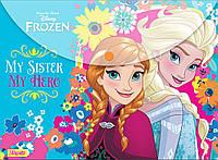 "491170 Папка-конверт на кнопке А4 ""Frozen"""