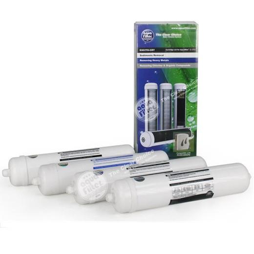Комплект картриджей для фильтра Aquafilter EXCITO-CRT