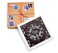 Открытки из шоколада с изображением заказчика. 180х180мм, фото 1