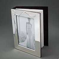 """Фотоальбом """"Два сердца"""", 14x19 см. для фото 10*15 см"""
