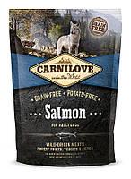 Carnilove Salmon Adult корм для собак, с лососем, 1.5 кг