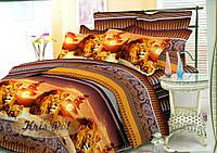 """Красивое семейное постельное бельё """"Прайд""""."""